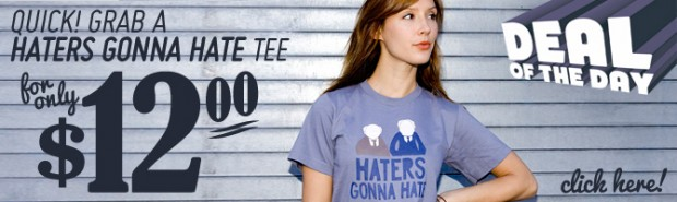 Haters Gonna Hate Waldorf and Statler T-Shirt