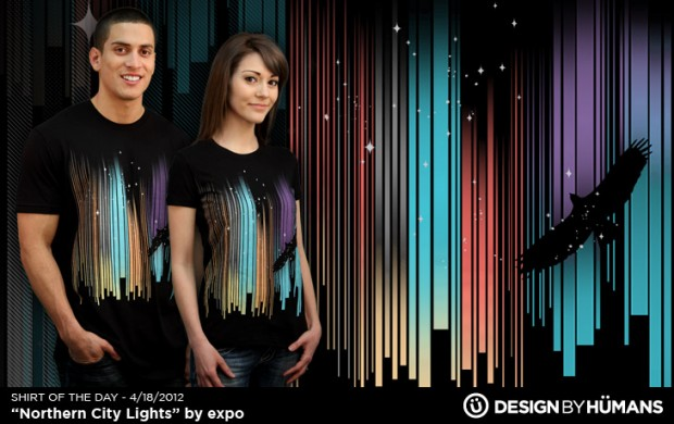 Northern City Lights T-Shirt