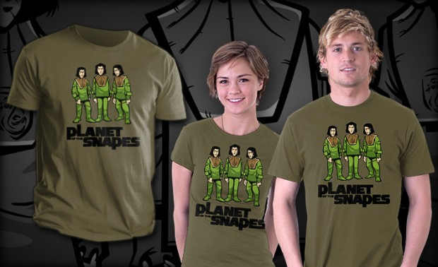 Planet of the Snapes T-Shirt