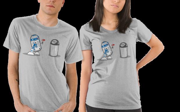 Star Wars Robot Crush R2-D2 T-Shirt