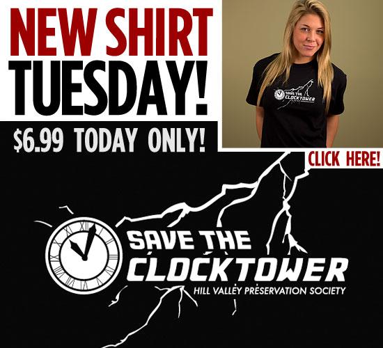 SAVE THE CLOCKTOWER T-SHIRT
