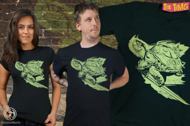 Senior Normal Ninja Tortoise T-Shirt
