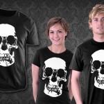 Sherlock: Wall Skull T-Shirt