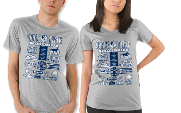 Space Time Tavern Tour T-Shirt