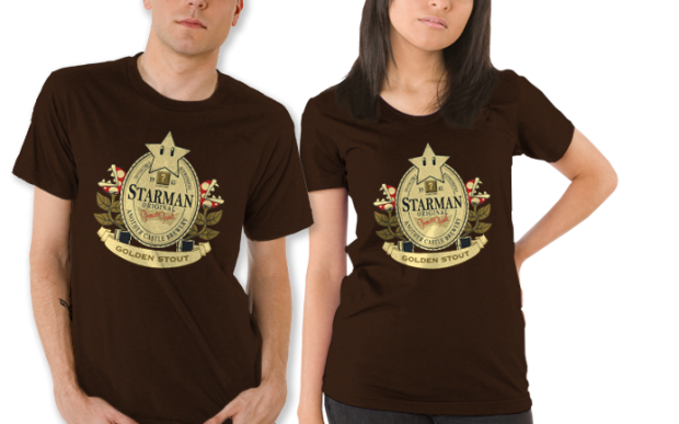 Starman Golden Stout T-Shirt