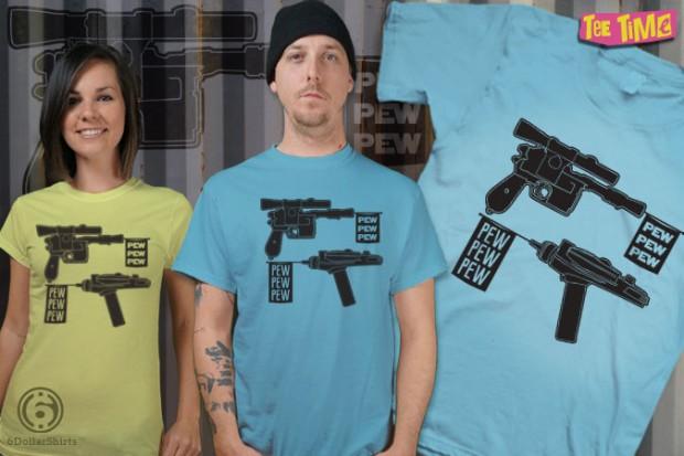 The Blaster vs Phaser Debate T-Shirt