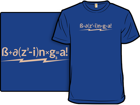 The Formula For Success Big Bang Theory T-Shirt