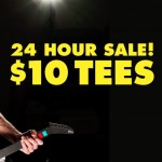 $10 Tees in Threadless 24 hour sale