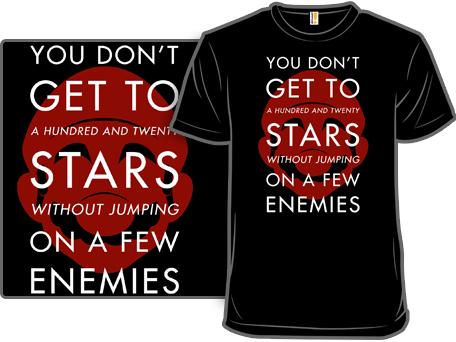 120 Stars Super Mario Bros T-Shirt