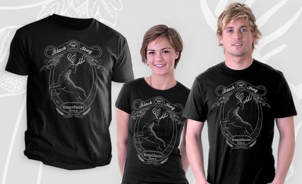 Black Stag Stout Game of Thrones T-Shirt