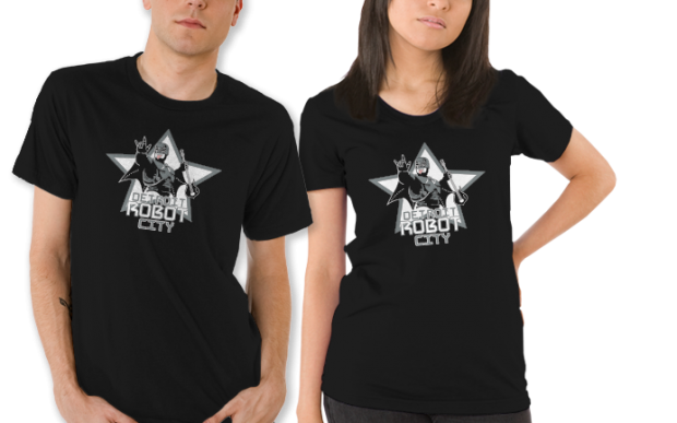 Detroit Robot City T-Shirt