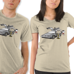 Doc Brown Charlie Brown Back to the Future T-Shirt