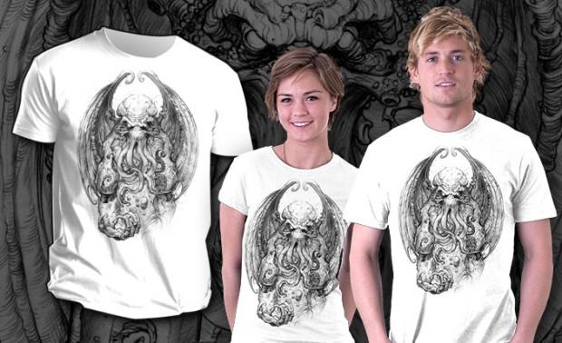 God Of Cosmic Horror Cthulhu T-Shirt