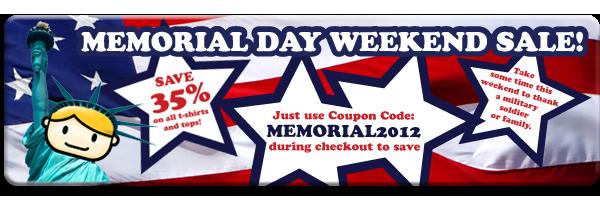 Goodie Two Sleeves Memorial Day Sale