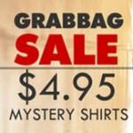 $4.95 Grab Bag T-Shirts and Snorg Tees