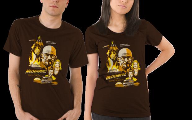 Heisenberg & the Cartel of Death Breaking Bad T-Shirt