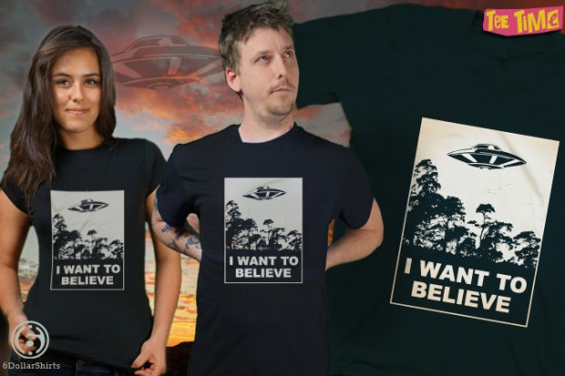 The X-Files I Want to Believe T-Shirt
