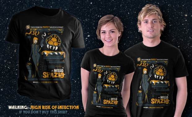 In Space Metroid T-Shirt