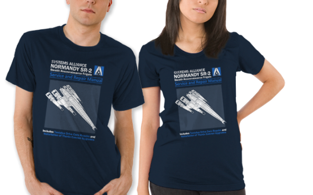 Normandy SR-2 Service Repair Manual T-Shirt