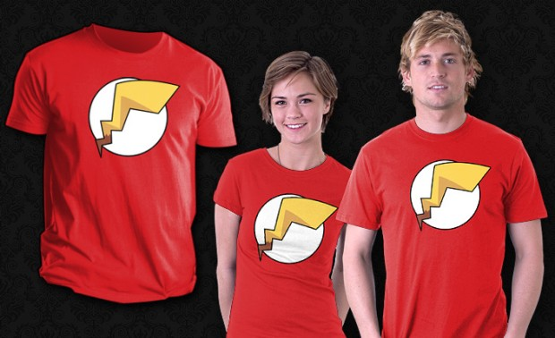 Pika-Flash Pokemon Flash Mashup T-Shirt