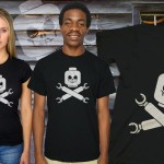 Plastic Block Pirates T-Shirt