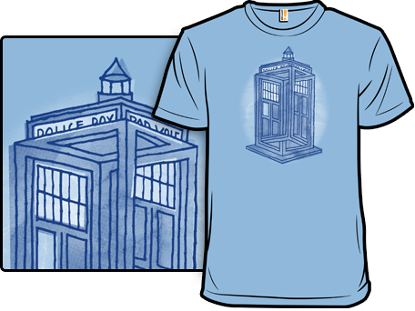 Relative Dimensions Doctor Who T-Shirt
