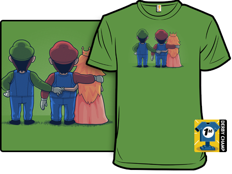 Secret love Super Mario Bros T-Shirt