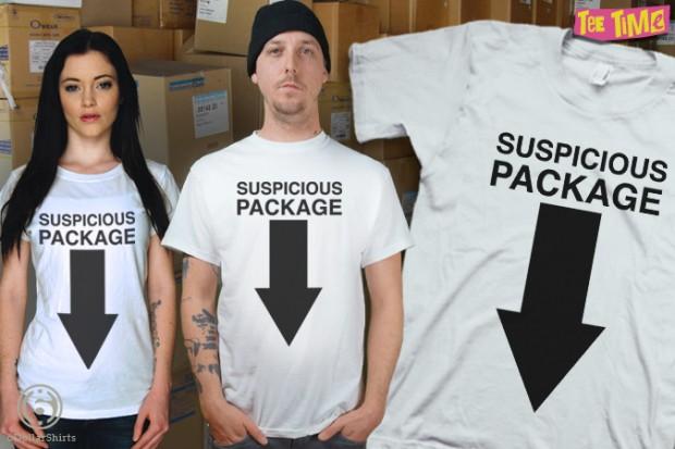 Suspicious Package T-Shirt