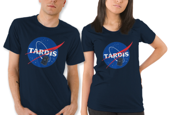 Tardis Space Program T-Shirt