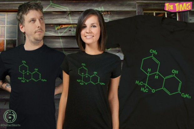 Terrific THC Molecule T-Shirt