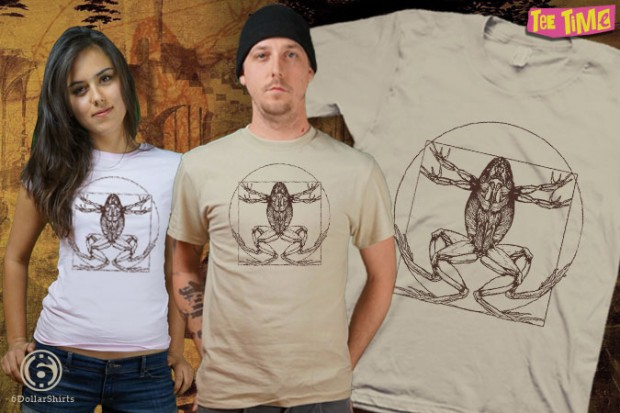 The Da Vinci Toad T-Shirt