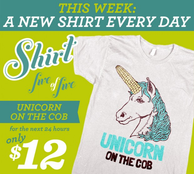 Unicorn On The Cob T-Shirt
