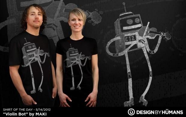 Violin Bot T-Shirt