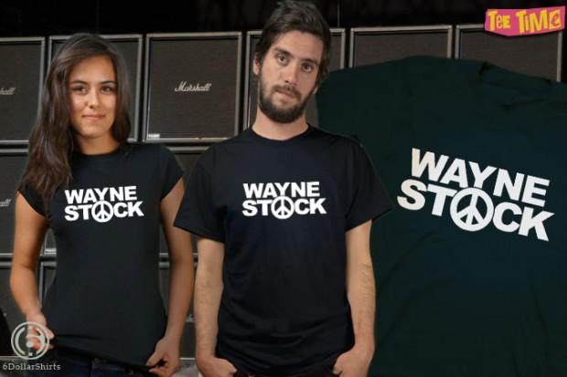 WAYNESTOCK Wayne's World T-Shirt