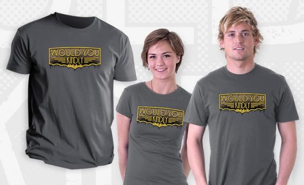 Would You Kindly Bioshock T-Shirt