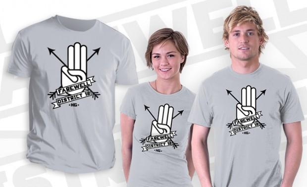 Farewell District 12 T-Shirt