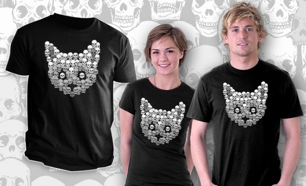 Skull Kitty T-Shirt