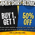 ThinkGeek Summer Shirt Blowout