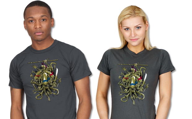 Teenage Alien Ninjamorphs T-Shirt
