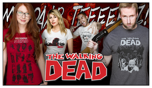 Tees from The Walking Dead