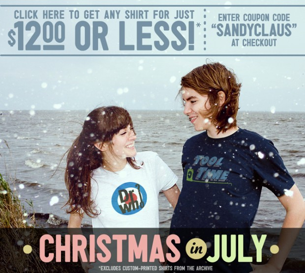 Busted Tees Christmas in July