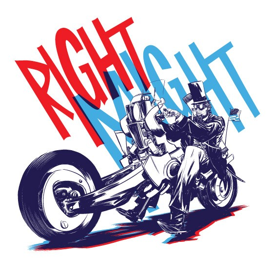 RIGHT MIGHT Abe Lincoln T-Shirt