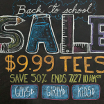 $9.99 T-Shirts in Threadless Back to School Sale