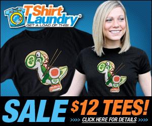 TShirt Laundry Yoshi