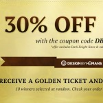 30% Off at Design by Humans