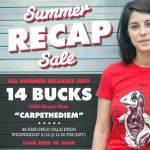 Busted Tees Summer Recap Sale