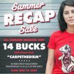 Busted Tees Summer Recap Sale