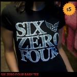 Six Zero Four Baby Tee