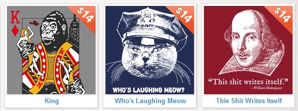 Headline Shirts - $14 T-Shirts