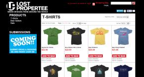 Lost Propertee T-Shirts catalog
